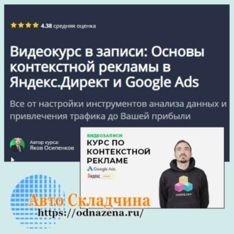 контекстная реклама основы